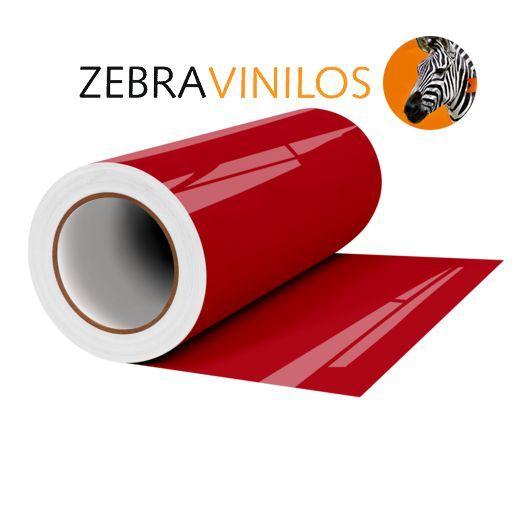 Vinilo Liso Rojo Brillo por Metros