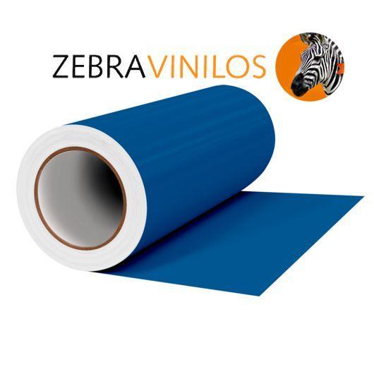 Vinilo Liso Azul Gentian Mate por Metros