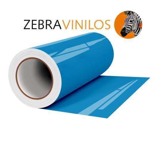 Vinilo Liso Azul Claro Brillo por Metros