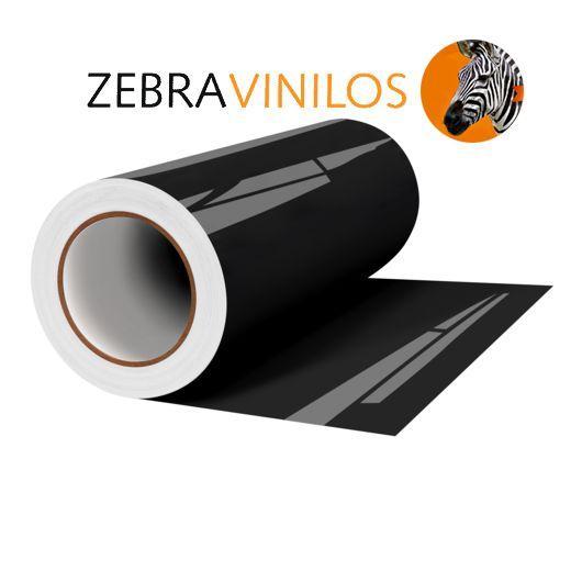 Vinilo Liso Negro Brillo por Metros