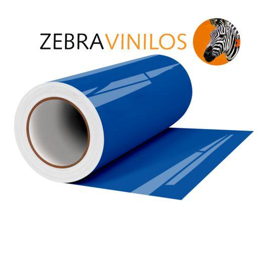 Vinilo Liso Azul Gentian Brillo por Metros