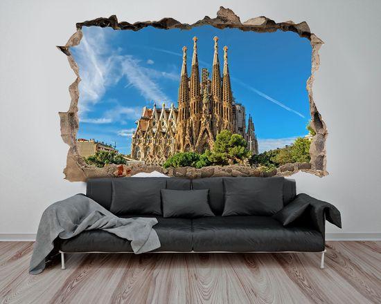 3D Sagrada Familia