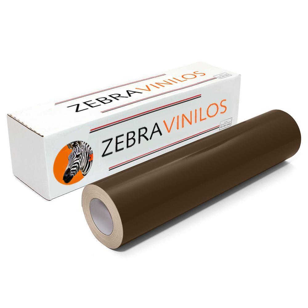 Vinilo Liso Marrón Chocolate Brillo por Metros