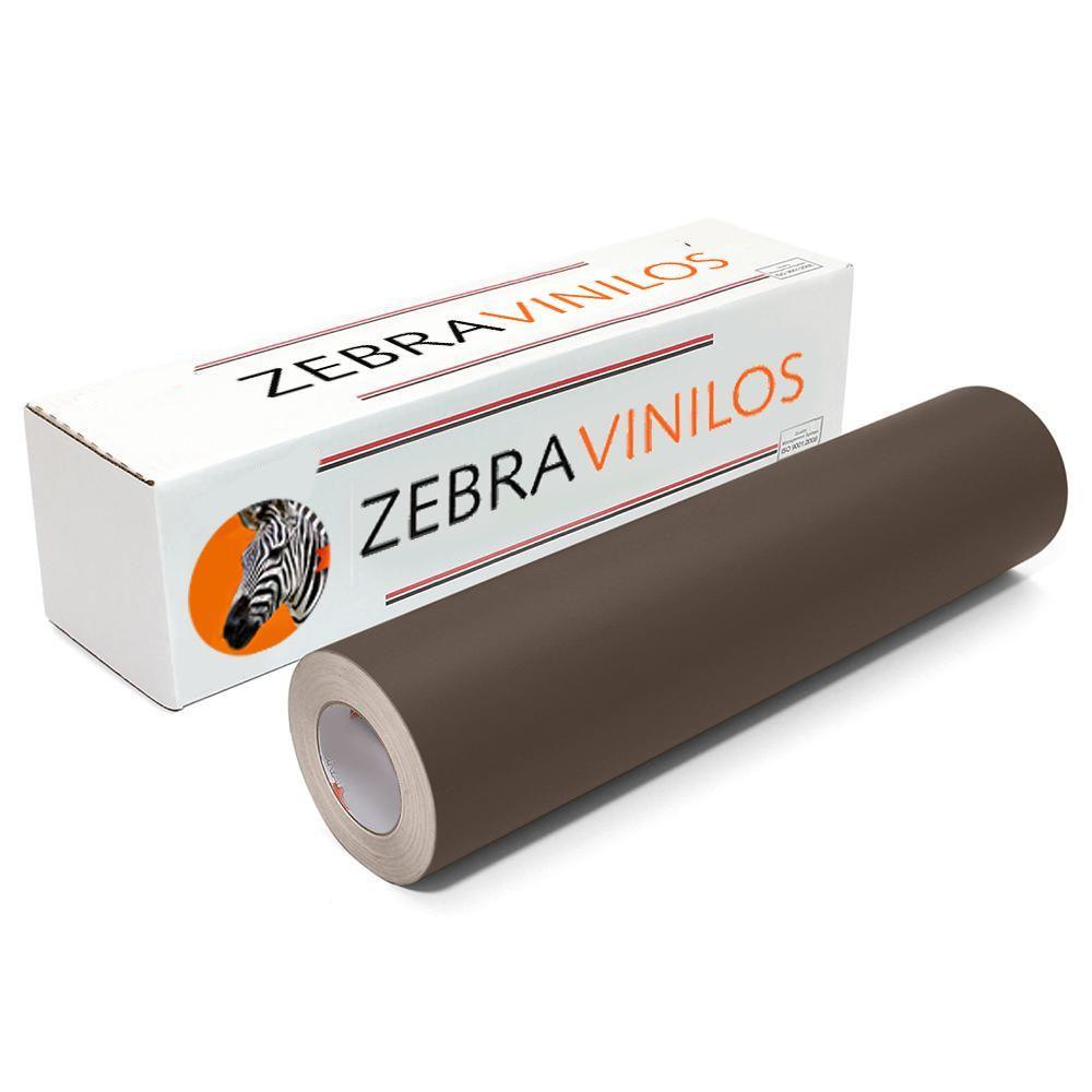 Vinilo Liso Marron Chocolate Mate por Metros