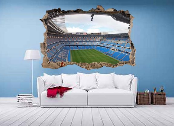 3D Bernabeu Real Madrid